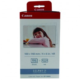 Canon KP108IN Postcard Size Paper and Ink Pack