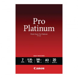 Canon PT-101 Pro Platinum Photo Paper A3 [Pack of 20 Sheets]