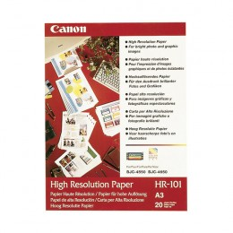 Canon HR101 High Resolution Paper [Pack of 50]