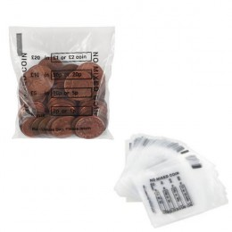 Cash Denominated Coin Bags [Pack of 5000]