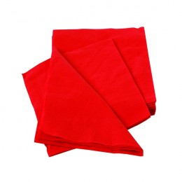 Maxima Napkin 400mm 2 Ply Red [Pack of 100]