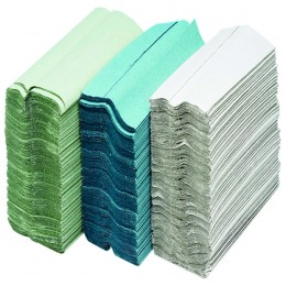 Maxima Green 2 Ply Hand Towel White [Pack of 20]