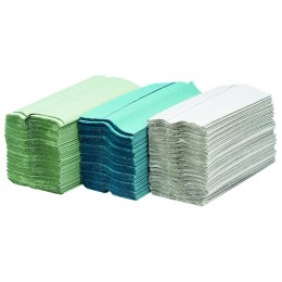 Maxima Green 1 Ply Hand Towel Green [Pack of 20]