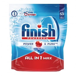 Finish All-In-1 Turbo Lemon Dishwasher Tablet [Pack of 52]