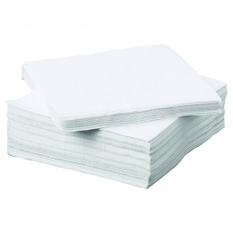 Napkin 2-Ply 330x330mm White [Pack of 100]