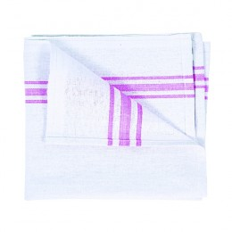 White Cotton Tea Towel 190x290mm [Pack of 10]