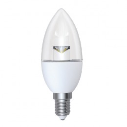 5W SES E14 Dimmable Clear Candle LED Lamp DIMC55SESWWCLR