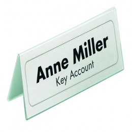 Q-Connect Name Badge Inserts 40x75mm [Pack of 300] | KF02288