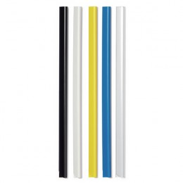Durable Spinebar 6mm A4 Black [Pack of 50]