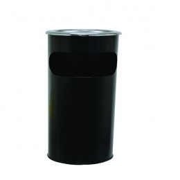 Durable Waste Bin with Round Ashtray