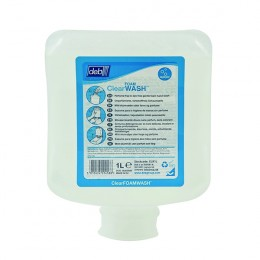 Deb Clear Foam Wash 1 Litre Cartridge [Pack of 6]