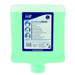 Deb Estesol Hair and Body Wash 2 Litre Cartridge