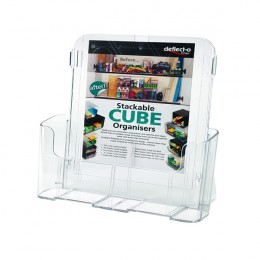 Deflecto Literature Holder A4+ Clear