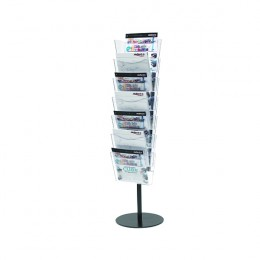 Deflecto Literature File Floor Stand for A4 7 Pocket