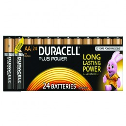 Duracell Plus Battery AA [Pack of 24]