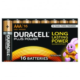 Duracell Plus Battery AAA [Pack of 16]