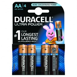 Duracell Batteries Ultra AA [Pack of 4]
