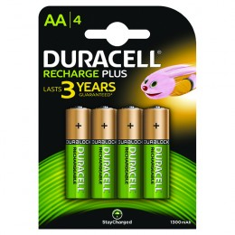 Duracell Stay Charged Entry AA Batteries [Pack of 4]