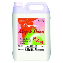 Carefree Mop Shine 5 Litre [Pack of 2]