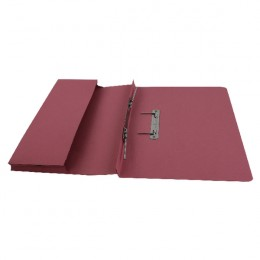 Acco BCC Jiffex Pocket File Foolscap Pink [Pack of 25]