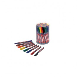 Edding 361 Drywipe Assorted Marker [Pack of 50]