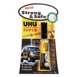 Uhu All Purpose Strong And Safe 7g [Pack of 12]