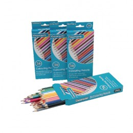 Classmaster Colouring Pencils Assorted [Pack of 36]