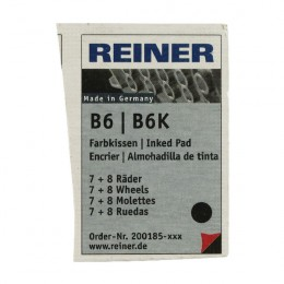 Colop Reiner B6/8K Replacement Ink Pad Black [Pack of 2]