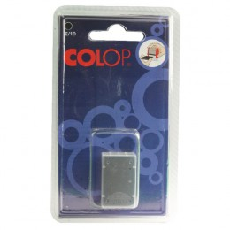 Colop E/10 Replacement Ink Pads Black [Pack of 2]