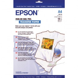 Epson S041154 Iron and Peel T-Shirt Media [Pack of 10]