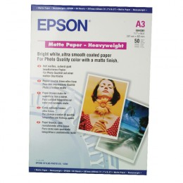 Epson S041261 Heavyweight Matte Paper [Pack of 50]
