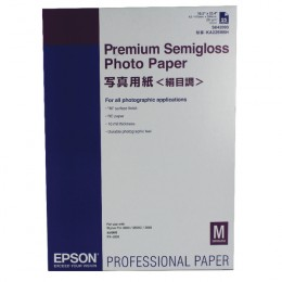 Epson S042093 Premium Semi-Gloss Photo Paper A2 [25 Sheets]