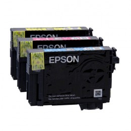 Epson T270540 Cyan Magenta and Yellow Inkjet Cartridges