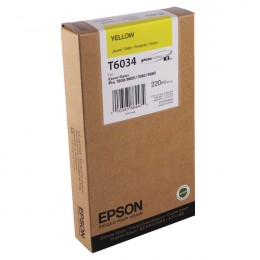 Epson T603400 Yellow Ink (220ml)