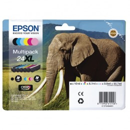 Epson T243840 Multipack of High Capacity Ink Cartridges