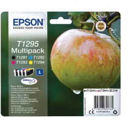 Epson T129540 Large Multi Pack of Four Cartridges