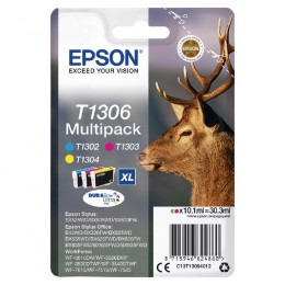 Epson T130640 Extra Large Multi Pack of Colour Cartridges
