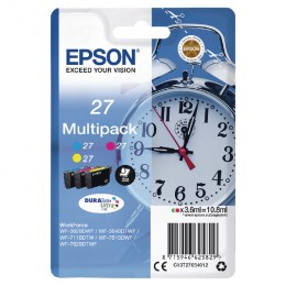 Epson T270540 Cyan Magenta and Yellow Multipack Ink Cartridge
