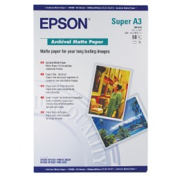 Epson S041340 Archival Matte Paper A3+ [Pack of 50]