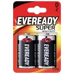 Eveready Battery Silver D [Pack of 2]