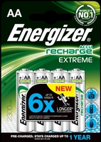 Energizer Extreme AA 2300Mah [Pack of 4]