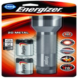 Energizer 2D LED Metal Torch