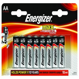 Energizer Max E92 AA Batteries [Pack of 12]