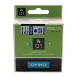 Dymo D1 Labels 19mm Blue on White