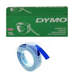 Dymo Embossing Tape 9mm Blue