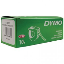 Dymo Embossing Tape 9mm Red