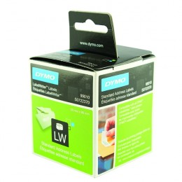 Dymo Appointment/Name Badge Labels 51x89mm Removable [Pack of 300]