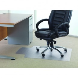 Floortex PVC Chair Mat Lipped 920x1210mm