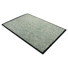 Dust Control Mat 1200x1800mm Black and White