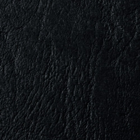 GBC 250g Leather Grain Cover Boards Plain Black [Pack of 100]